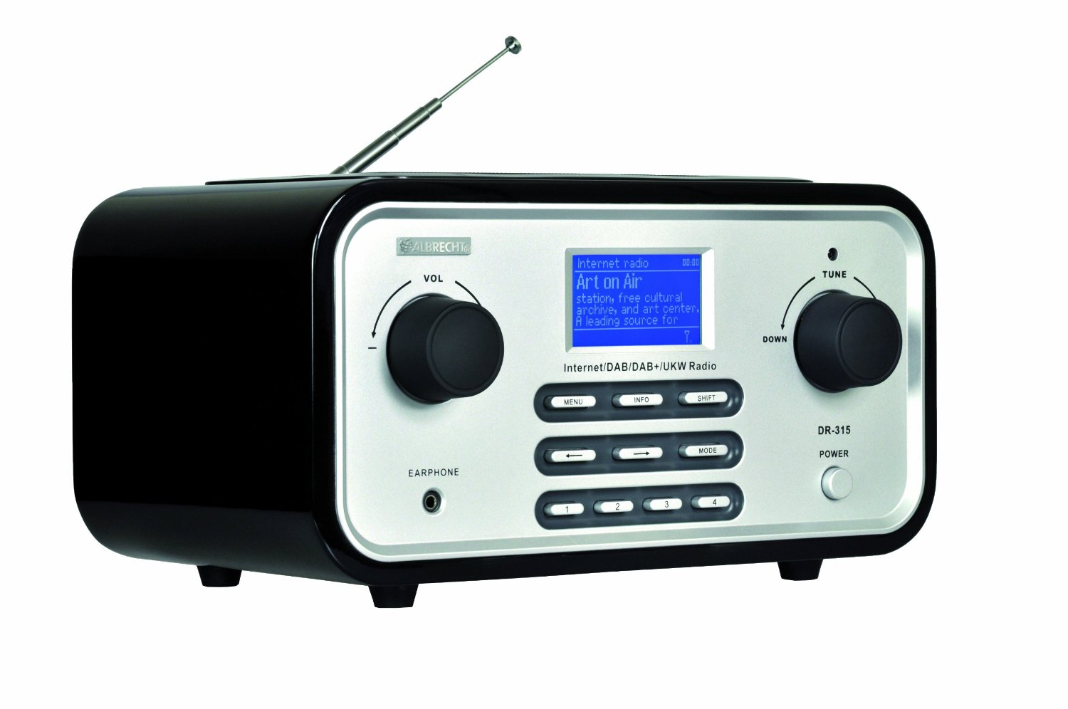 Internetradio Albrecht DR 315 FB4 im Test