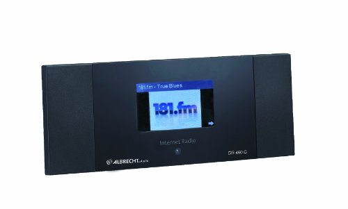albrecht dr460 c internet radio mit colordisplay wecker schwarz internetradio kaufen. Black Bedroom Furniture Sets. Home Design Ideas