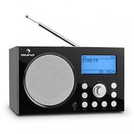 Auna IR-140 Internetradio, schwarz