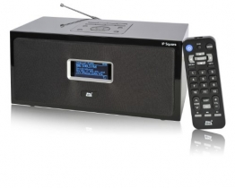 Dnt IP Square Internetradio schwarz - 1