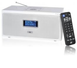 Dnt IP Square Internetradio weiß - 1