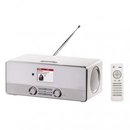 Hama DIR3110 Internetradio, weiß