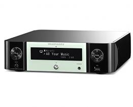 Marantz MCR511/N1GN Melody Media Netzwerk-CD-Receiver (Bluetooth, Airplay, Spotify Connect, Internetradio, DAB/DAB+) weiß - 1