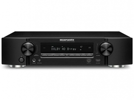 Marantz NR1506/N1B 5.2 4-Kanal 4K Netzwerk A/V-Receiver (WLAN, Bluetooth, Airplay, Spotify Connect, Internetradio ) schwarz - 1