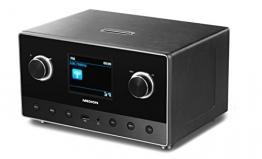 MEDION LIFE P85111 (MD 87295) WiFi Internet Radio mit 2.1 Soundsystem, Multiroom, DAB+, UKW Empfänger, DLNA, schwarz - 1