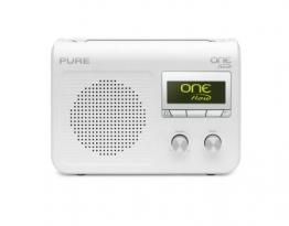 Pure VL-61871 One Flow Internet-Radio (DAB+/UKW-Tuner, WLAN, 1-er Stück) weiß - 1