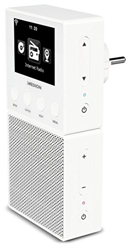 medion e85032 md 87248 steckdosen internetradio wei internetradio kaufen. Black Bedroom Furniture Sets. Home Design Ideas