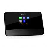 auna iAdapt 280 Internetradio Adapter WLAN Radio (DAB / DAB+ / UKW Tuner, Bluetooth Funktion, Weckfunktion, inkl. Fernbedienung) schwarz -