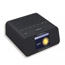 Albrecht 27450 DR 450 Internetradio Wecker DAB+ UKW schwarz -