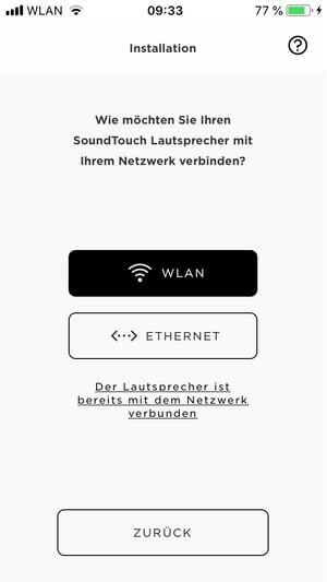 Bose SoundTouch 20 Test App Installation