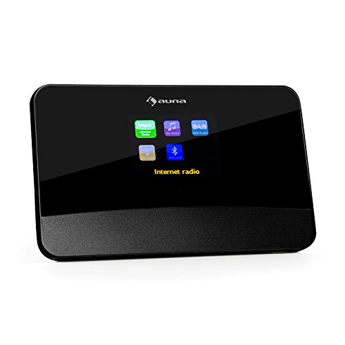 auna iAdapt 280 Internetradio Adapter WLAN Radio, schwarz