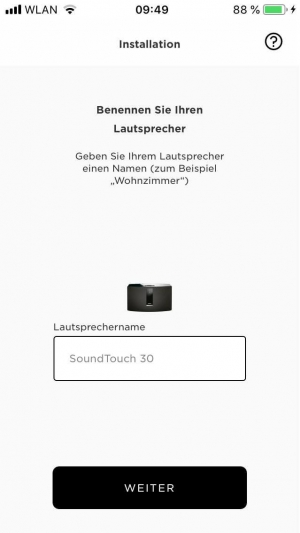 Bose Soundtouch 30 Serie 3 Test IOS APP